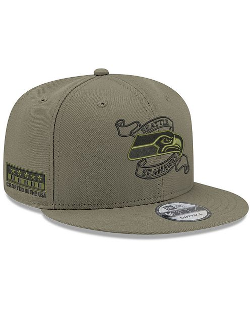 831ce7137dc ... New Era Seattle Seahawks Crafted in the USA 9FIFTY Snapback Cap ...
