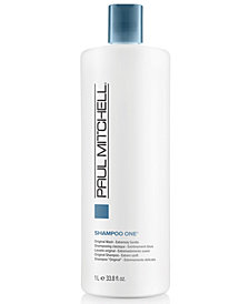 Paul Mitchell Original Shampoo One, 33.8-oz., from PUREBEAUTY Salon & Spa