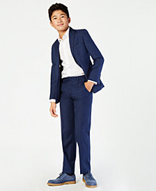 Calvin Klein Boys' Infinite Stretch Slim Fit Jacket, Vest & Pants Separates