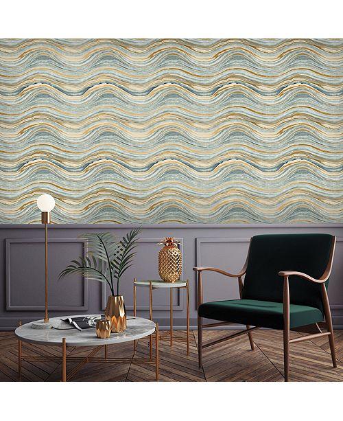 Tempaper Travertine Self-Adhesive Wallpaper