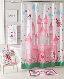 Dream Factory Magical Princess Shower Curtain