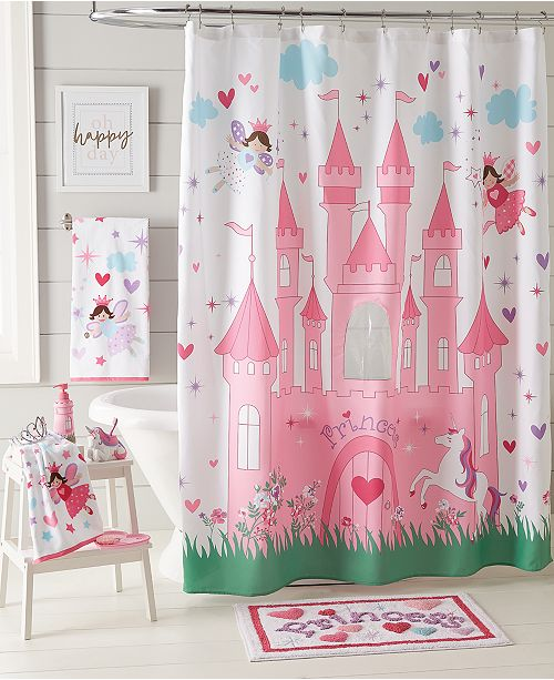 Dream Factory Magical Princess Shower Curtain