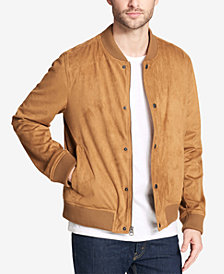 Levi's® Men's Faux-Suede Varsity Baseball Jacket