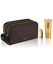 Receive a Complimentary 3-Pc. gift with any large spray purchase from the Paco Rabanne 1 Million fragrance collection
