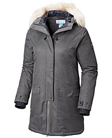 Columbia Hawks Prairie Faux-Fur-Trim Jacket