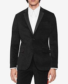 Calvin Klein Men's Velvet Blazer