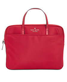 kate spade new york Universal Nylon Slim Commuter Laptop Case
