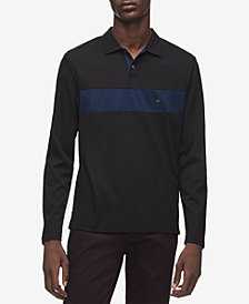 Calvin Klein Men's Colorblocked Rugby Polo