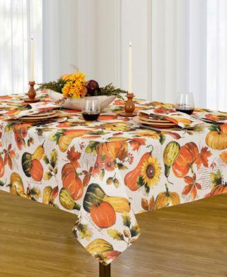 "Grateful Season 60"" x 144"" Tablecloth"