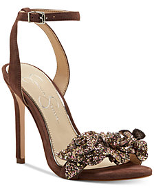 Jessica Simpson Jazzy Embellished Dress Sandals