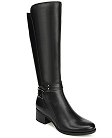 Dane Wide Calf Riding Boots