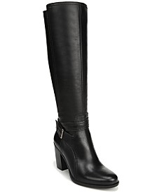 Naturalizer Kelsey Wide Calf Riding Boots