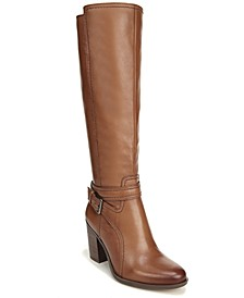 Kelsey Leather Riding Boots