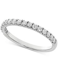 Lab Grown Diamond Band (3/8 ct. t.w.) in 14k White Gold