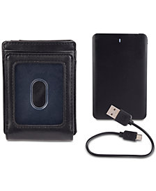Exact Fit Men's Powerbank RFID Wallet