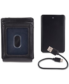 Exact Fit Men's Powerbank RFID Wallet