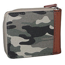 Expedition II Huntington Gear RFID Zip-Around Wallet