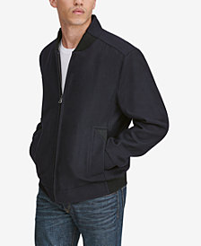 Marc New York Men's Barlow Wool Bomber Jacket