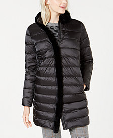 Weekend Max Mara Fur-Trim Quilted Jessica Jacket
