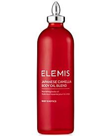 Japanese Camellia Body Oil Blend, 3.4 oz.