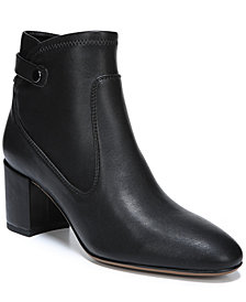 Franco Sarto Newton Block-Heel Booties