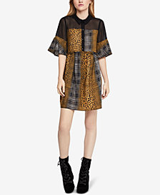 BCBGeneration Printed Yoke Shirtdress