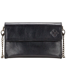 Patricia Nash Heritage Ricadi Smooth Leather Chain Crossbody