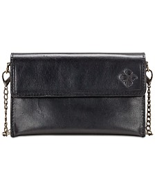 e12e7ba459 Patricia Nash Heritage Ricadi Smooth Leather Chain Crossbody