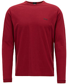 BOSS Men's Long-Sleeve Cotton T-Shirt