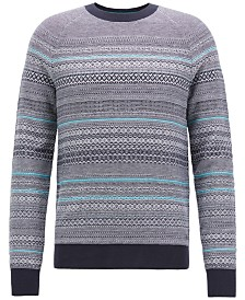 BOSS Men's Regular/Classic-Fit Sweater