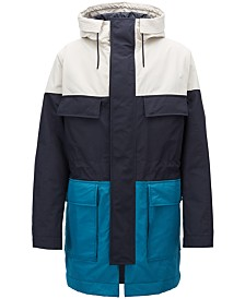 BOSS Men's Colorblocked Parka