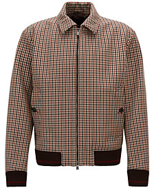 BOSS Men's Checked Jacket