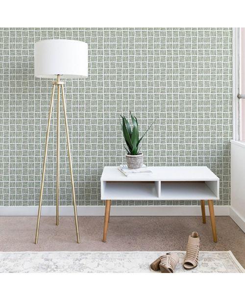 Deny Designs Iveta Abolina Pine Needle Checker II 2'x4' Wallpaper