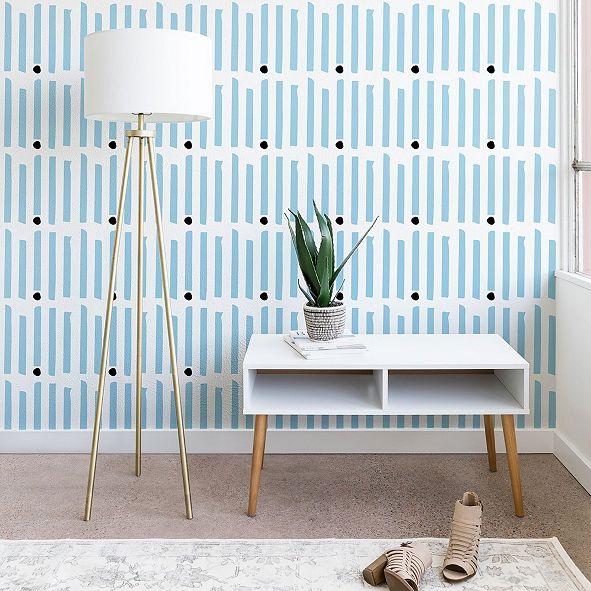 Deny Designs Caroline Okun Keene Stripes 2'x10' Wallpaper