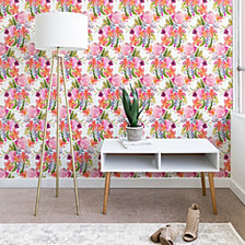 Deny Designs Ninola Design Flowers Sweet Bloom Pink Wallpaper