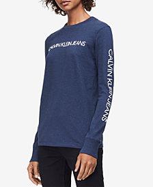 Calvin Klein Jeans Cotton Logo Sweatshirt