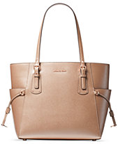 Michael Kors Voyager East West Crossgrain Leather Tote ba36e0b691