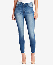 WILLIAM RAST Raw-Hem Skinny Jeans