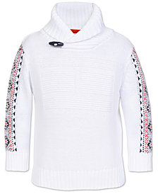 Tommy Hilfiger Baby Boys Cotton Shawl-Collar Sweater