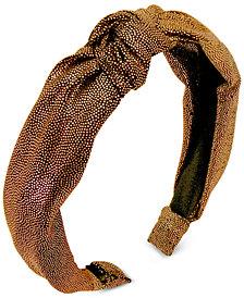 GUESS Metallic-Dot Twist Headband
