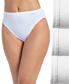 Jockey Elance French Cut 3 Pack 1485 1487, also available in Plus sizes