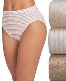 Jockey Elance Breathe Cotton 3 pack French Cuts 1541, also available in extended sizes