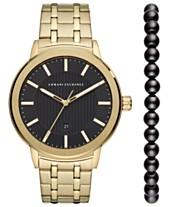 77299b4a8295 Armani Exchange Watches - Macy s