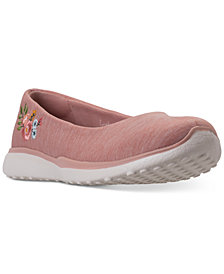 Skechers Women's Microburst - Botanical Paradise Athletic Walking Sneakers from Finish Line