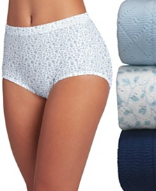 Jockey Elance Breathe Brief Underwear 3 Pack 1542 (Also available in extended sizes)