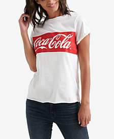 Lucky Brand Cotton Coca-Cola® Banner T-Shirt