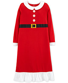 Carter's Toddler, Little & Big Girls Mrs. Claus Nightgown