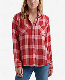 Lucky Brand Plaid Button-Down Shirt