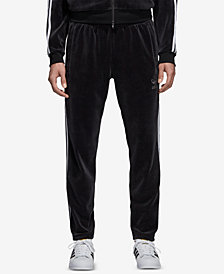 adidas Men's Originals Adicolor Velour Track Pants