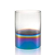 Artland Rainbow Pillar Candle Holder, Medium